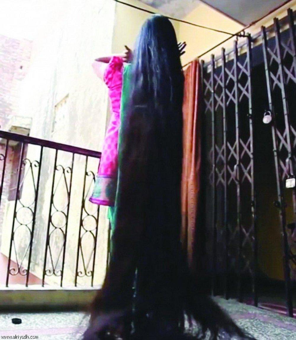 بالصور اطول شعر في العالم , شاهد اطول شعر في الدنيا 3512 8