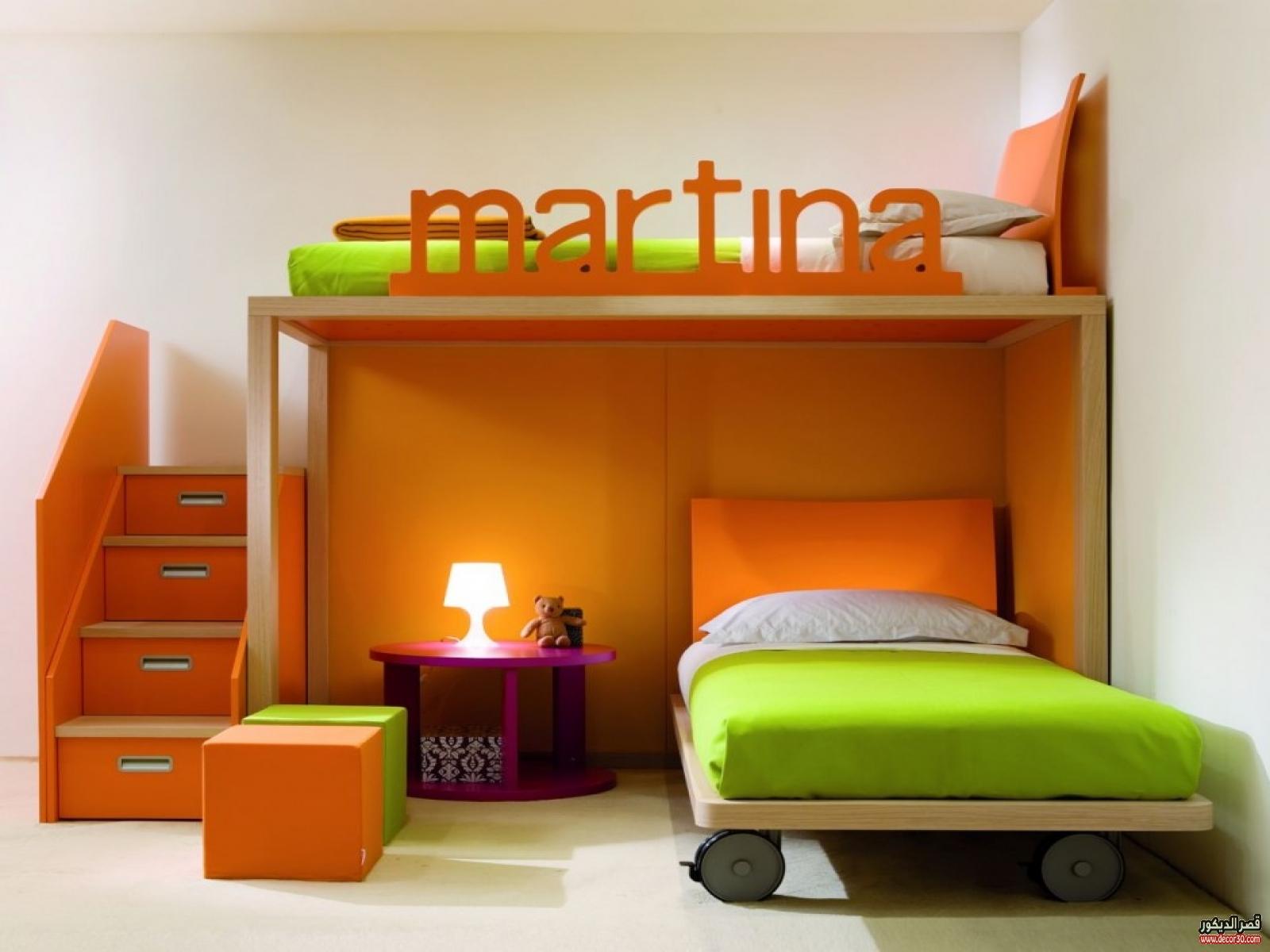 بالصور احدث غرف نوم اطفال , صور احدث غرف النوم للاطفال 3587 2