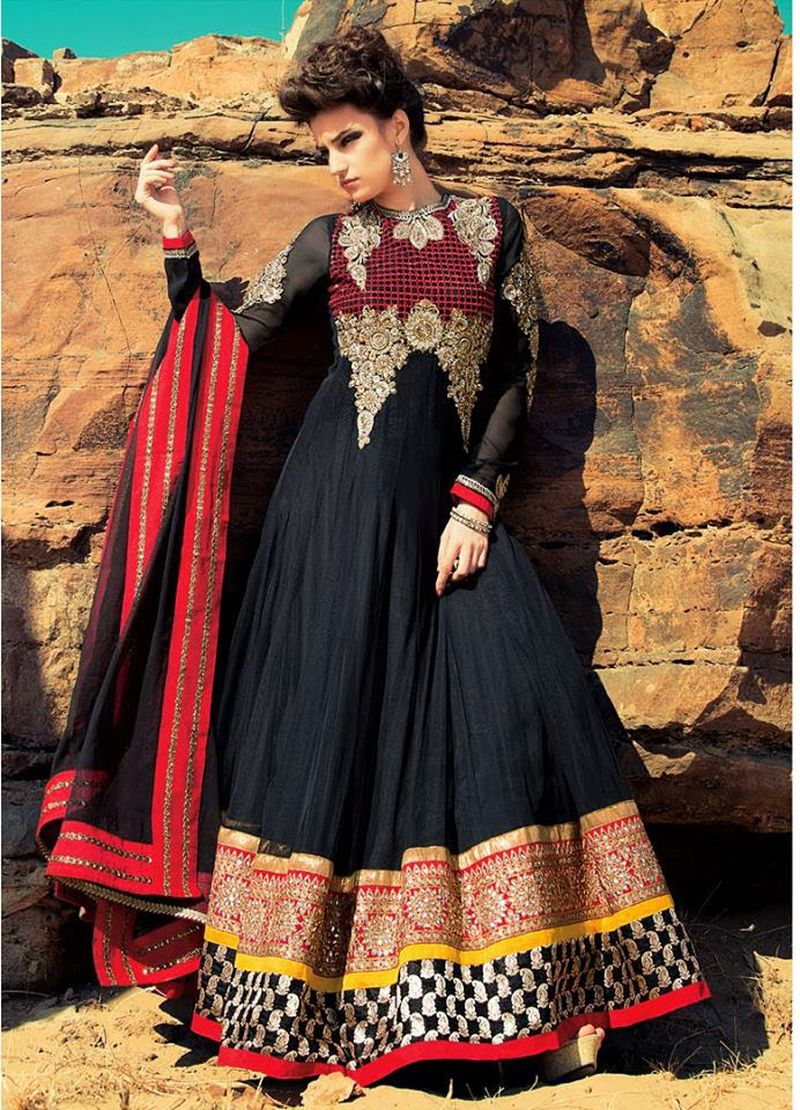 بالصور ازياء هندية , صور لاحدث صيحات الساري الهندي 3591 4