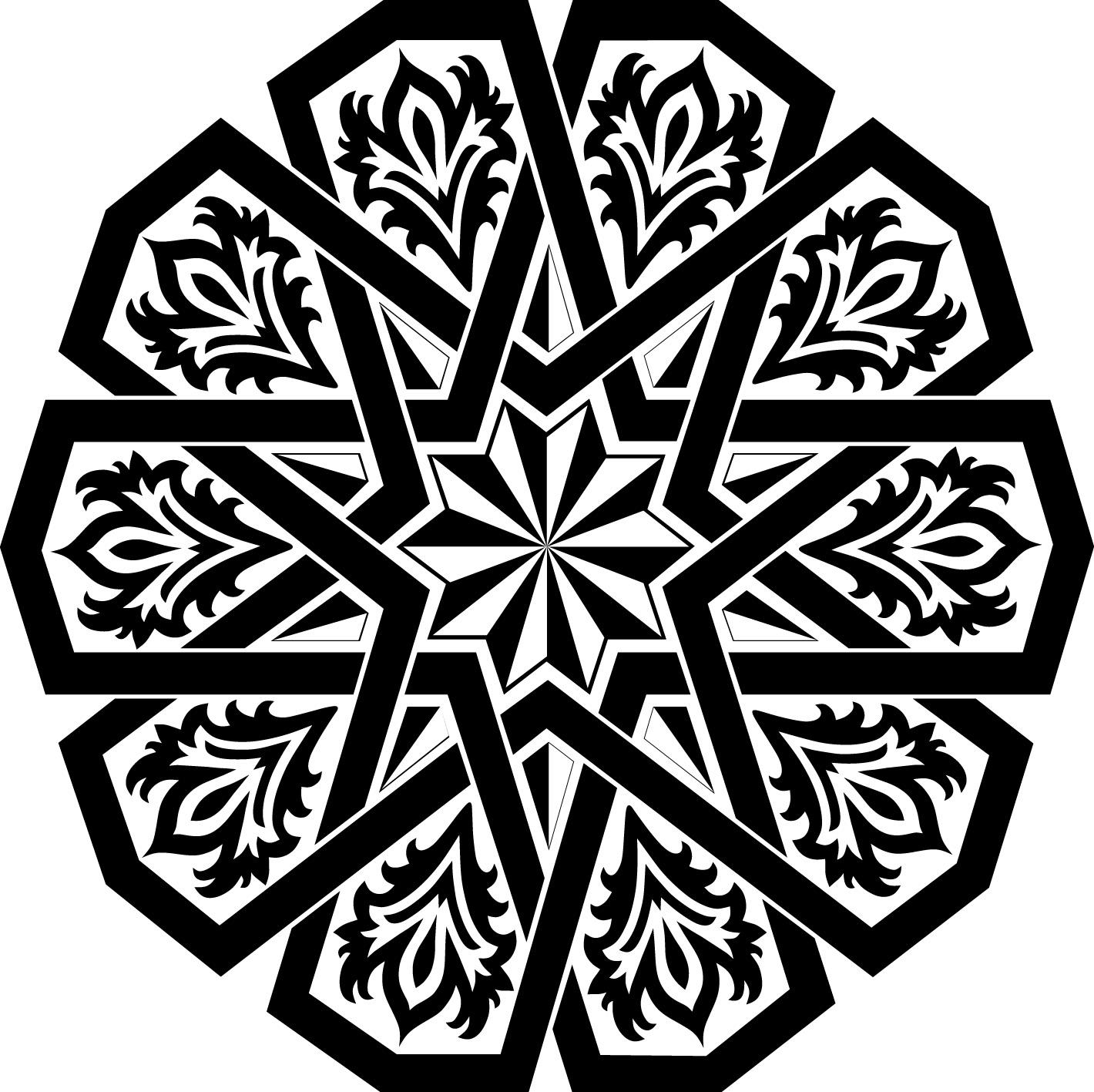 بالصور زخرفة اسلامية , صور لاشكال من الفن الاسلامي المميز 3614 8
