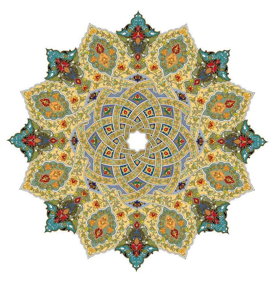 صوره زخرفة اسلامية , صور لاشكال من الفن الاسلامي المميز