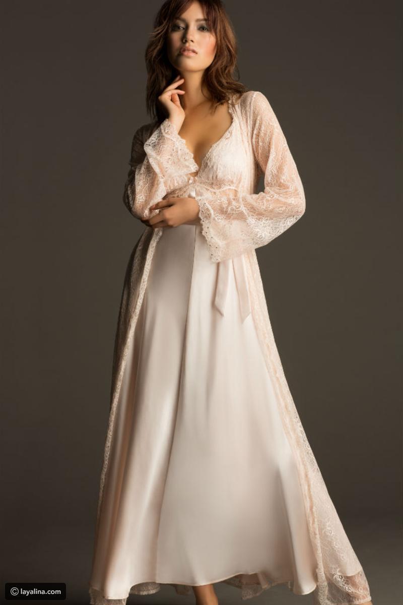 بالصور ملابس نوم للعرايس , اجمل ملابس النوم لللعروس2019 3636 9