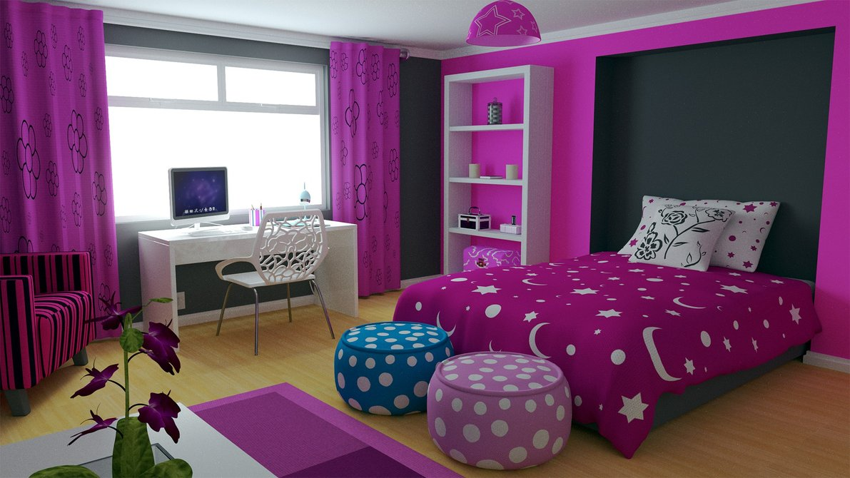 بالصور غرف اطفال بنات , صور تصميمات غرف لارق واجمل بنوته 3640 3