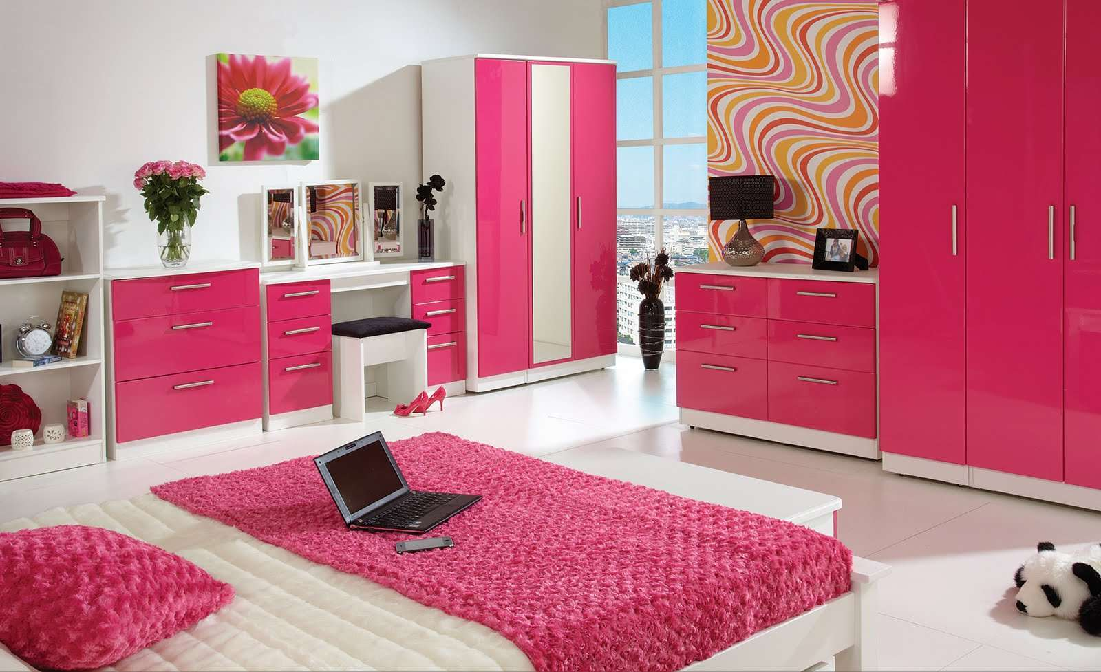 بالصور غرف اطفال بنات , صور تصميمات غرف لارق واجمل بنوته 3640 6