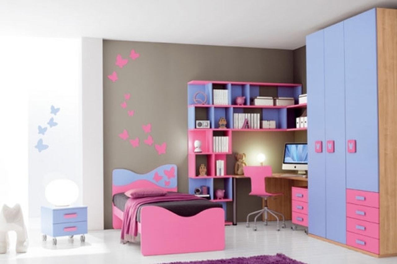 بالصور غرف اطفال بنات , صور تصميمات غرف لارق واجمل بنوته 3640 8