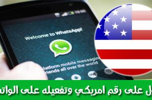 بالصور واتس اب برقم امريكي , افضل طريقه للحصول علي حساب واتس امريكي 375 1 310x205