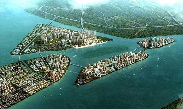بالصور اكبر جزيرة صناعية في العالم , بالصور شاهد اكبر جزيره صناعيه 393 5