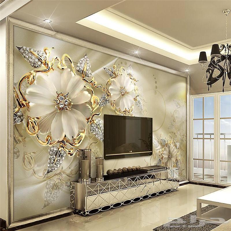 صورة ورق جدران ثلاثي الابعاد , اشكال رائعه لتزيين منزلك