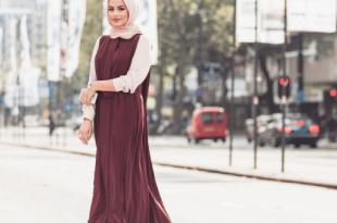 صوره ازياء محجبات 2019 , صور لملابس المحجبات