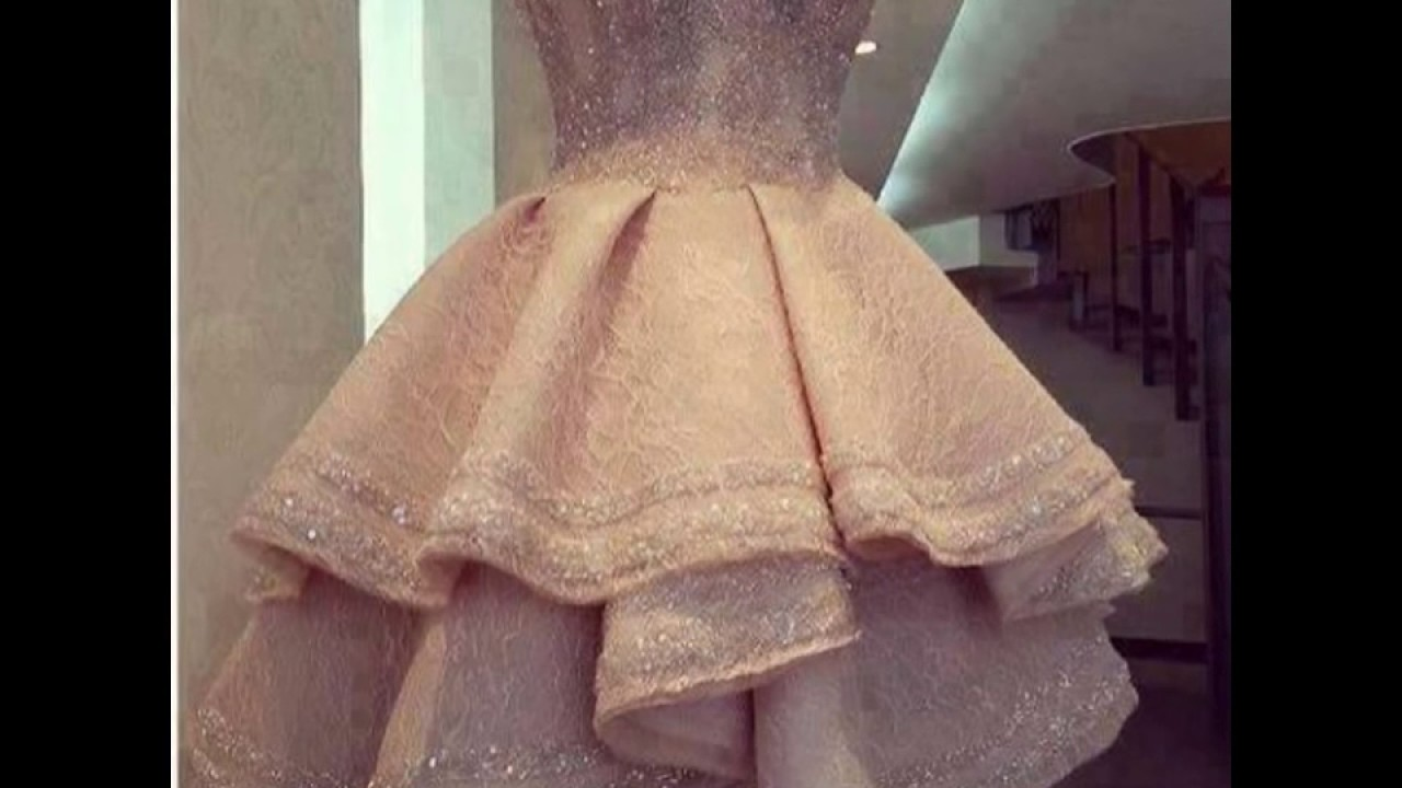 03f7ba1b0 فساتين قصيره دانتيل , تشكيله من الفساتين الدانتيل الرائعه للمناسبات ...