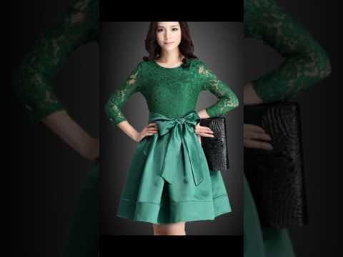 بالصور فساتين قصيره دانتيل , تشكيله من الفساتين الدانتيل الرائعه للمناسبات 6220 7