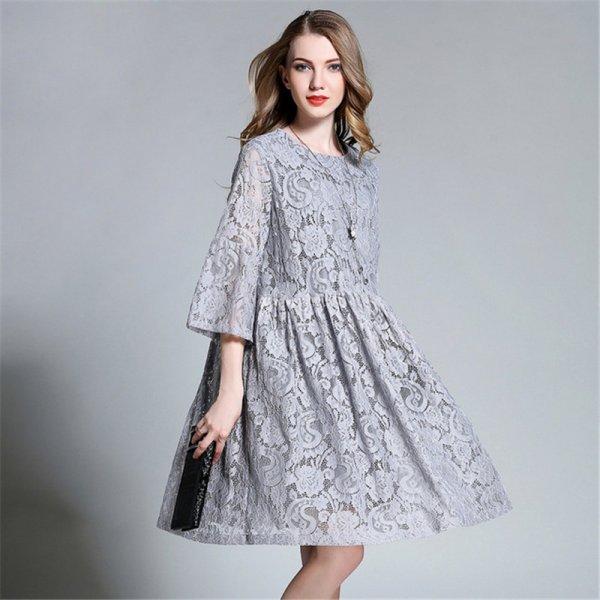 بالصور فساتين قصيره دانتيل , تشكيله من الفساتين الدانتيل الرائعه للمناسبات 6220