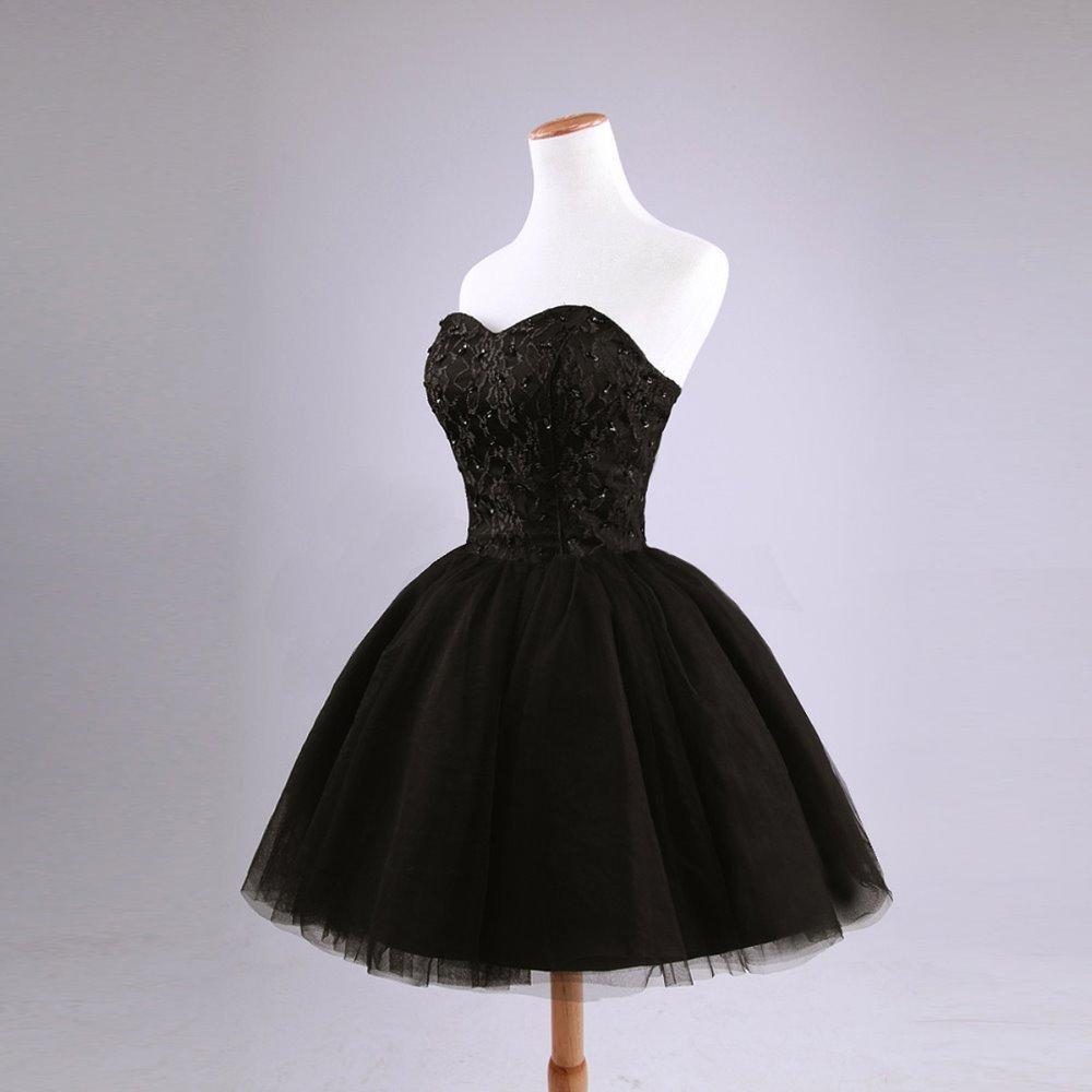 بالصور فساتين قصيرة منفوشة , اجدد فستان منفوش للخطوبه والزفاف 6267 2