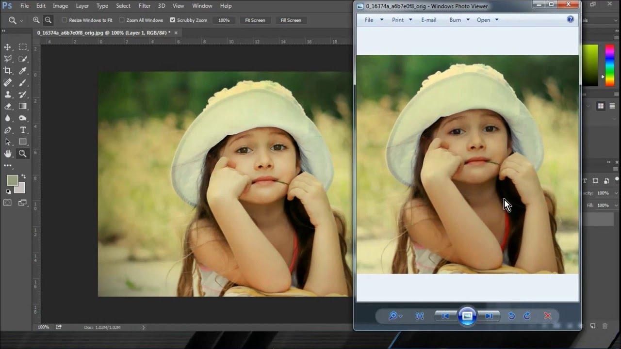 بالصور التعديل على الصور , كيفيه استخدام برنامج الفوتو شوب 6467 1