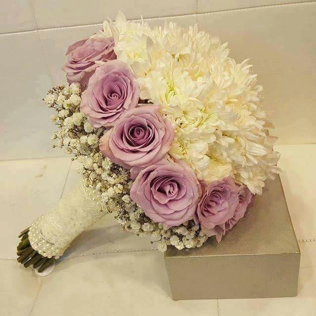 صورة باقات زهور , اجمل بوكيهات الورد التى تحتاجها العرائس 6561 6