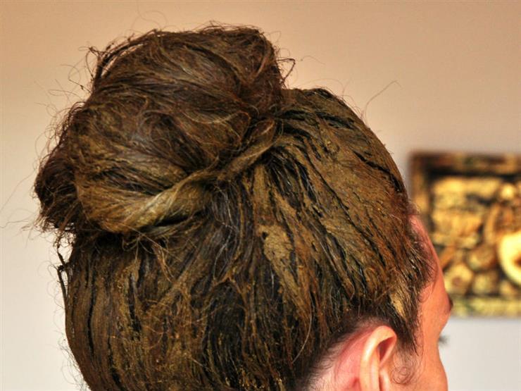 صوره صبغات شعر طبيعية , كيفيه عمل صبغات الشعر داخل المنزل