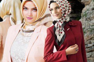 بالصور حجابات تركية 2019 , اشيك موديلات العام الجديد للحجاب التركي 1667 17 310x205
