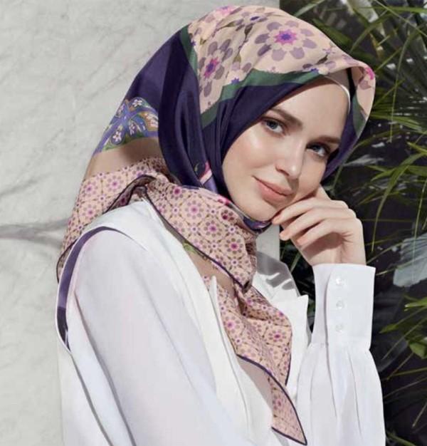 بالصور حجابات تركية 2019 , اشيك موديلات العام الجديد للحجاب التركي 1667 7