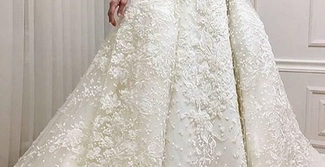 بالصور فساتين اعراس للمحجبات , فساتين زفاف انيقة للعروس المحجبة 426 640x330