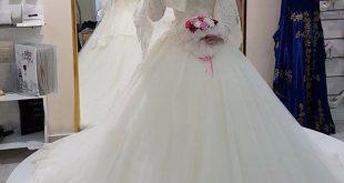 بالصور فساتين زفاف محجبات , ارقي فساتين ليلة العمر للعرائس المحجبات 2075 310x165