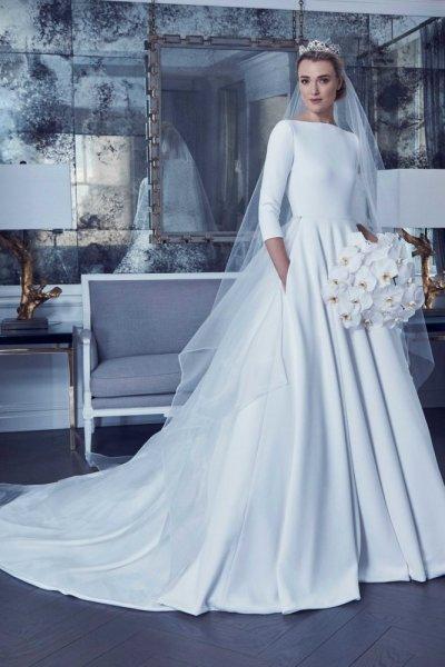 بالصور صور فساتين عروس , موديلات فساتين راقية لعروس 2019 2101 1