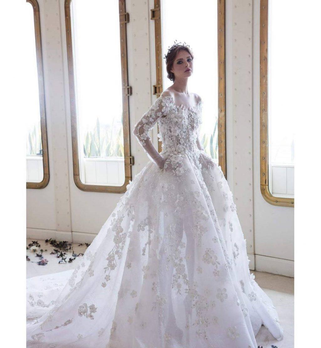 بالصور صور فساتين عروس , موديلات فساتين راقية لعروس 2019 2101 17