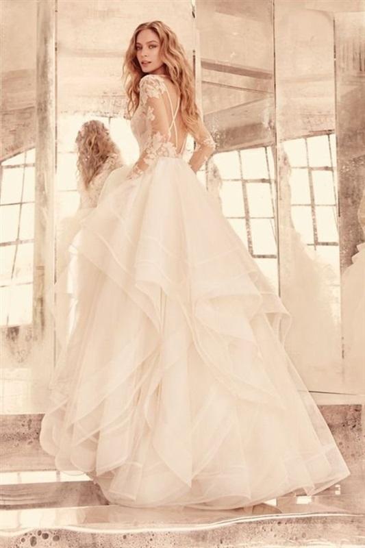بالصور صور فساتين عروس , موديلات فساتين راقية لعروس 2019 2101 19