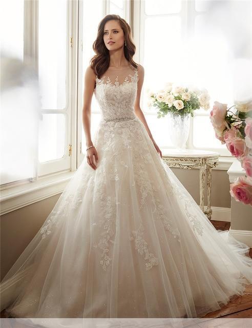 بالصور صور فساتين عروس , موديلات فساتين راقية لعروس 2019 2101 2