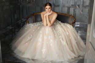 صور صور فساتين عروس , موديلات فساتين راقية لعروس 2019