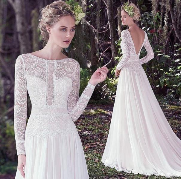 بالصور صور فساتين عروس , موديلات فساتين راقية لعروس 2019 2101 5