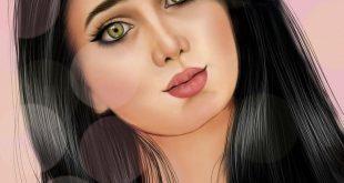 بالصور بنات كيوت رسم , صور بنات مرسومة غاية في الروعة والرقة 2336 310x165