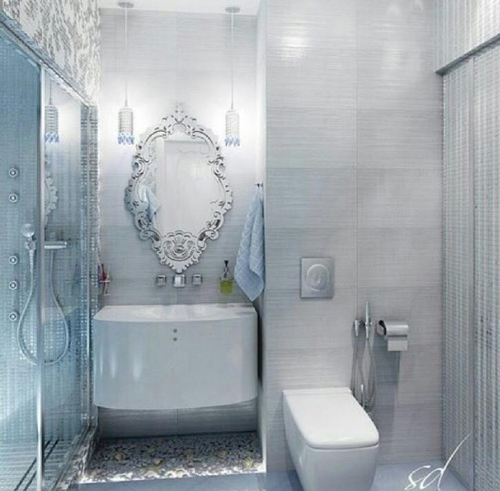 بالصور ديكورات حمامات صغيرة جدا وبسيطة , شاهد تصميمات تتميز بالبساطة للحمامات الضيقة 2467 1