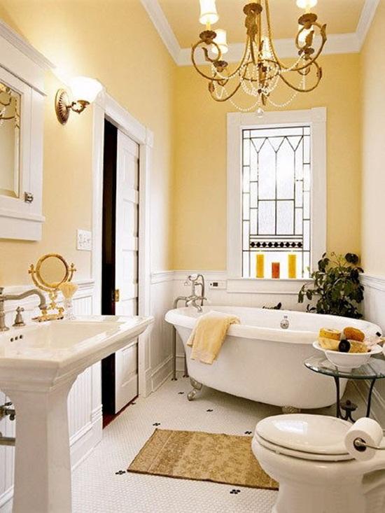 بالصور ديكورات حمامات صغيرة جدا وبسيطة , شاهد تصميمات تتميز بالبساطة للحمامات الضيقة 2467 10