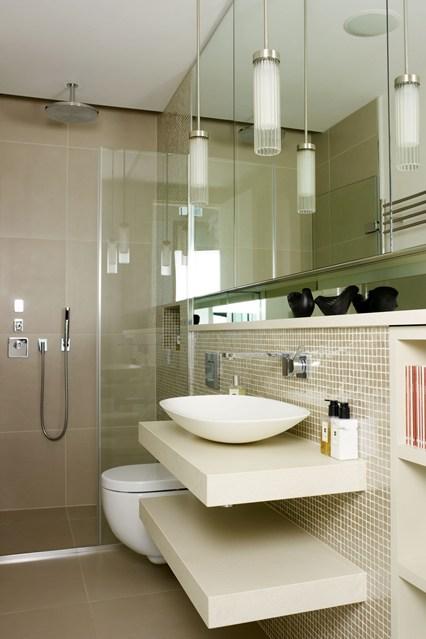 بالصور ديكورات حمامات صغيرة جدا وبسيطة , شاهد تصميمات تتميز بالبساطة للحمامات الضيقة 2467 12