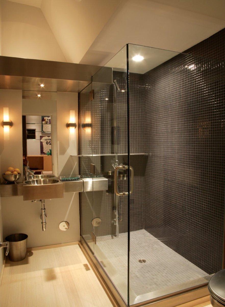 بالصور ديكورات حمامات صغيرة جدا وبسيطة , شاهد تصميمات تتميز بالبساطة للحمامات الضيقة 2467 15