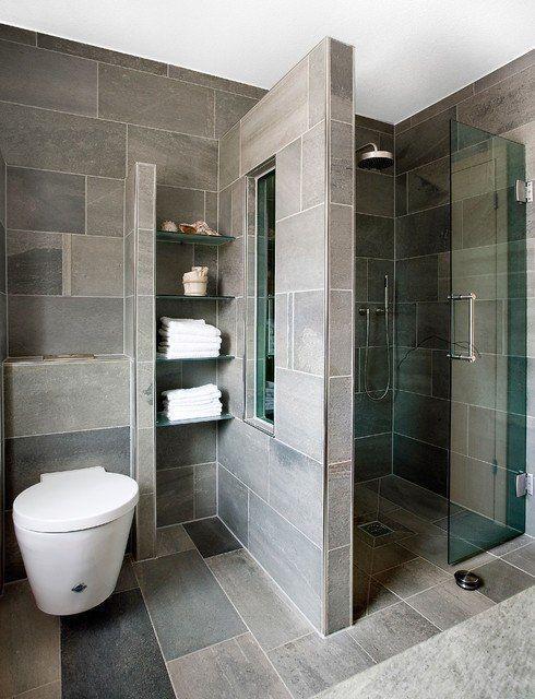بالصور ديكورات حمامات صغيرة جدا وبسيطة , شاهد تصميمات تتميز بالبساطة للحمامات الضيقة 2467 19