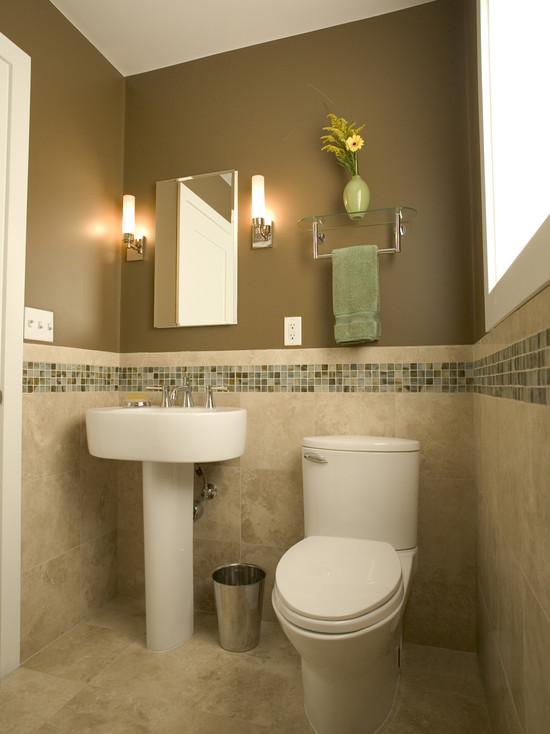 بالصور ديكورات حمامات صغيرة جدا وبسيطة , شاهد تصميمات تتميز بالبساطة للحمامات الضيقة 2467 3