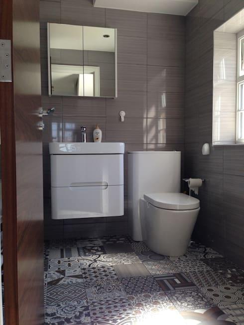بالصور ديكورات حمامات صغيرة جدا وبسيطة , شاهد تصميمات تتميز بالبساطة للحمامات الضيقة 2467 6