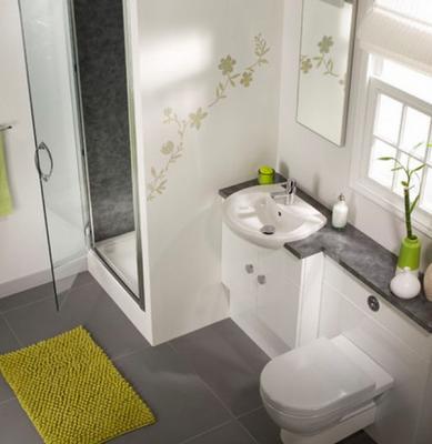 بالصور ديكورات حمامات صغيرة جدا وبسيطة , شاهد تصميمات تتميز بالبساطة للحمامات الضيقة 2467 7