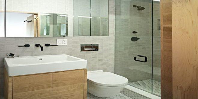 بالصور ديكورات حمامات صغيرة جدا وبسيطة , شاهد تصميمات تتميز بالبساطة للحمامات الضيقة 2467 8