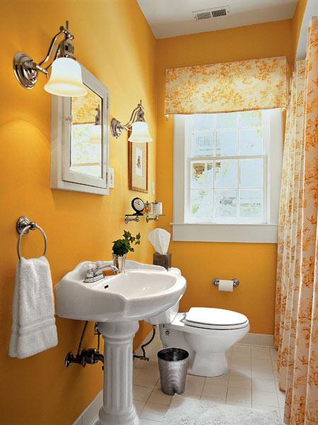 بالصور ديكورات حمامات صغيرة جدا وبسيطة , شاهد تصميمات تتميز بالبساطة للحمامات الضيقة 2467 9