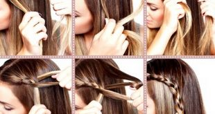 بالصور طرق تصفيف الشعر , تسريحات جميلة للشعر للبنات 11315 3 310x165