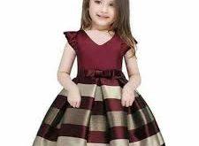 بالصور احدث موديلات فساتين اطفال , اجمل اشكال الفساتين 12341 12 225x165
