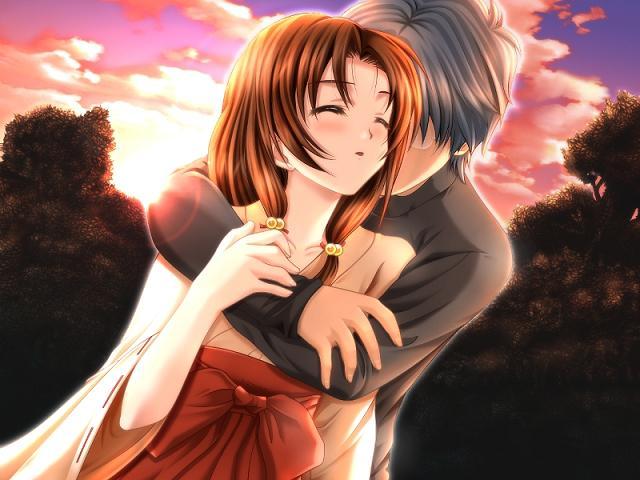 صورة صور انمى رومنسية , اجمل صور انمي معبرة عن الحب