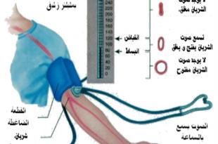 صور كيفية قراءة قياس ضغط الدم , ماهي القراءة الصحيحة لضغط الدم