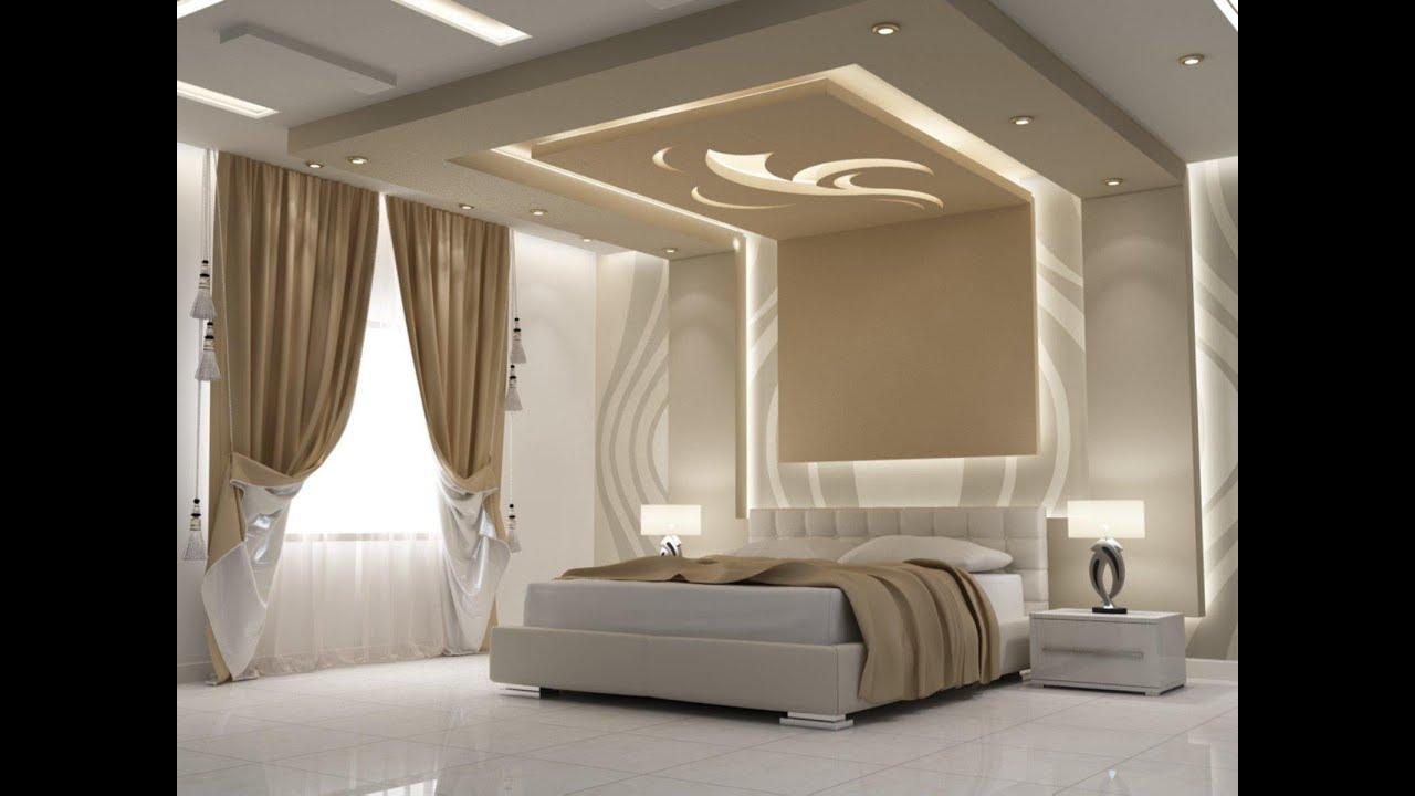 صور ديكور جبس غرفة النوم , موضة جديدة لديكور غرف النوم