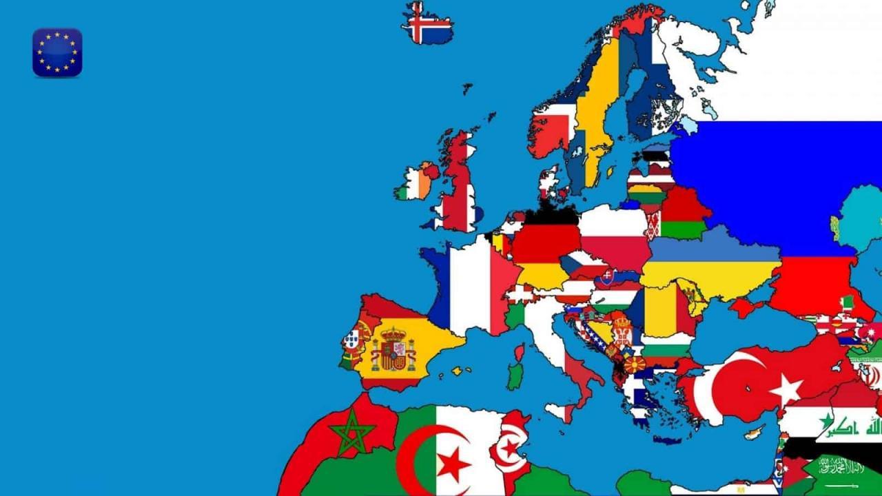 صورة اسماء دول اوروبا , ماهى اسماء دول اوروبا