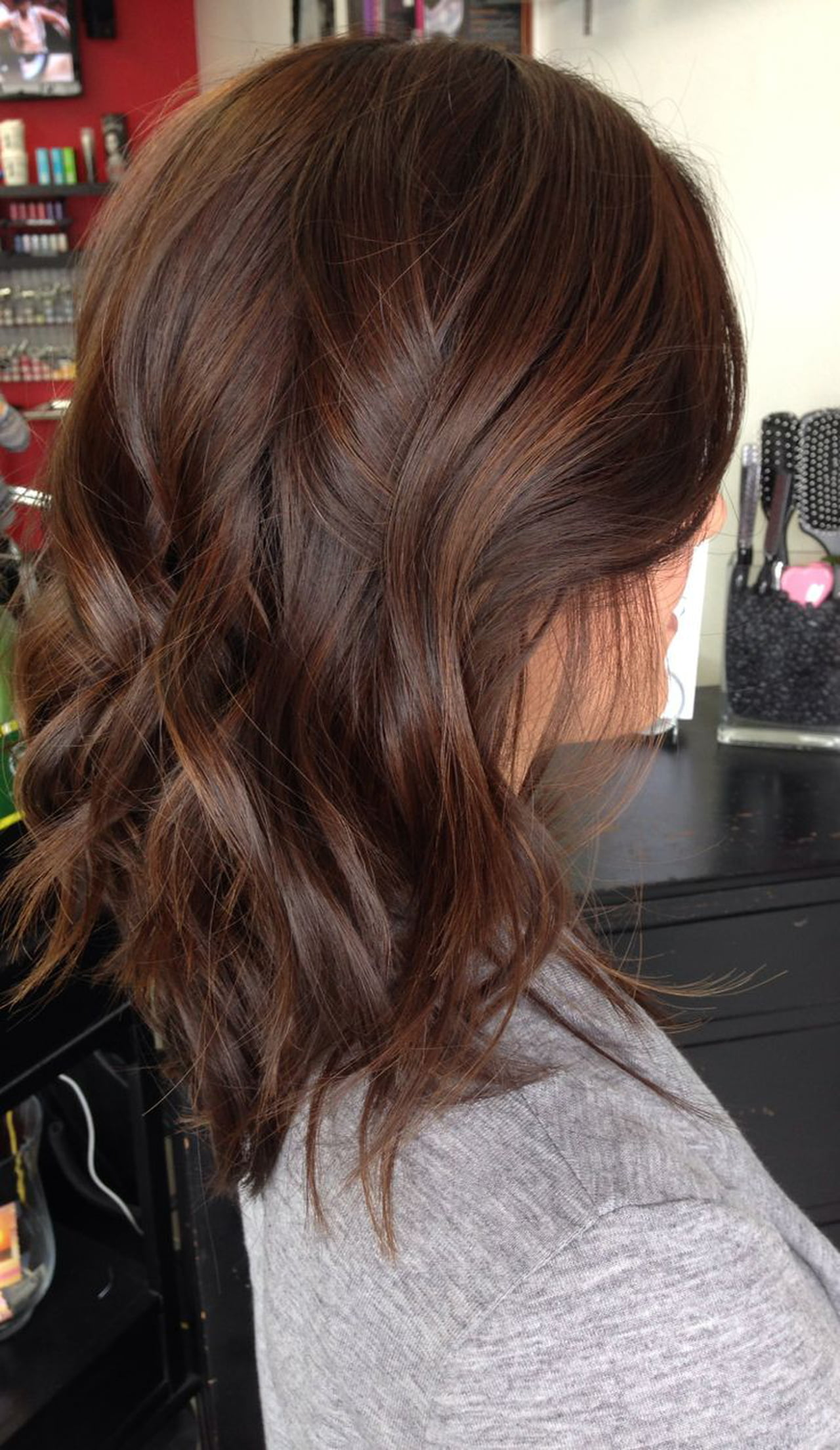 صورة صبغ الشعر بطريقة طبيعية , وصفات رائعه لتلوين الشعر بدون صبغة