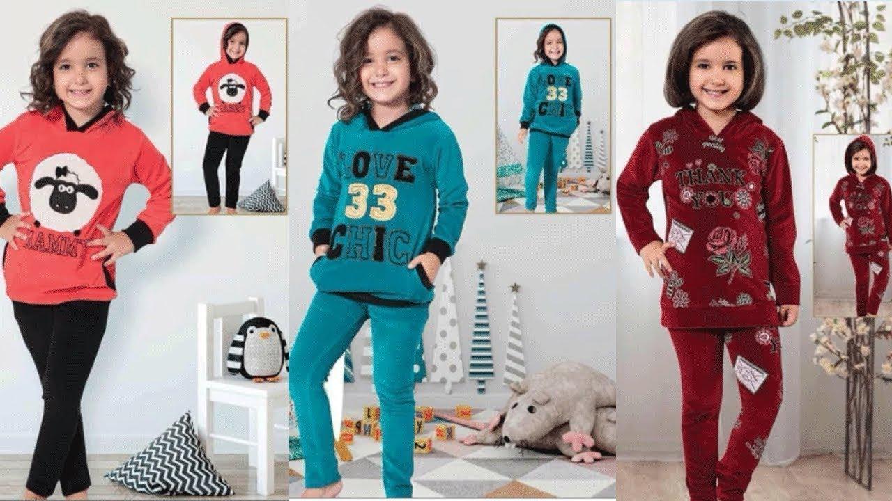 صور بيجامات اطفال شتويه , احدث التصميمات الرائعة للبس الاطفال الشتوى
