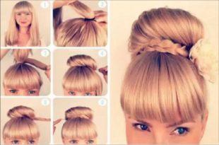 صور طريقة عمل كعكة الشعر بالخطوات , ماهى افضل طريقة لعمل كعكه الشعر